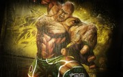 Wallpaper Street Fighter x Tekken Craig Marduk.