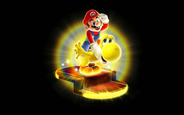 Wallpaper Super Mario Galaxy 2.