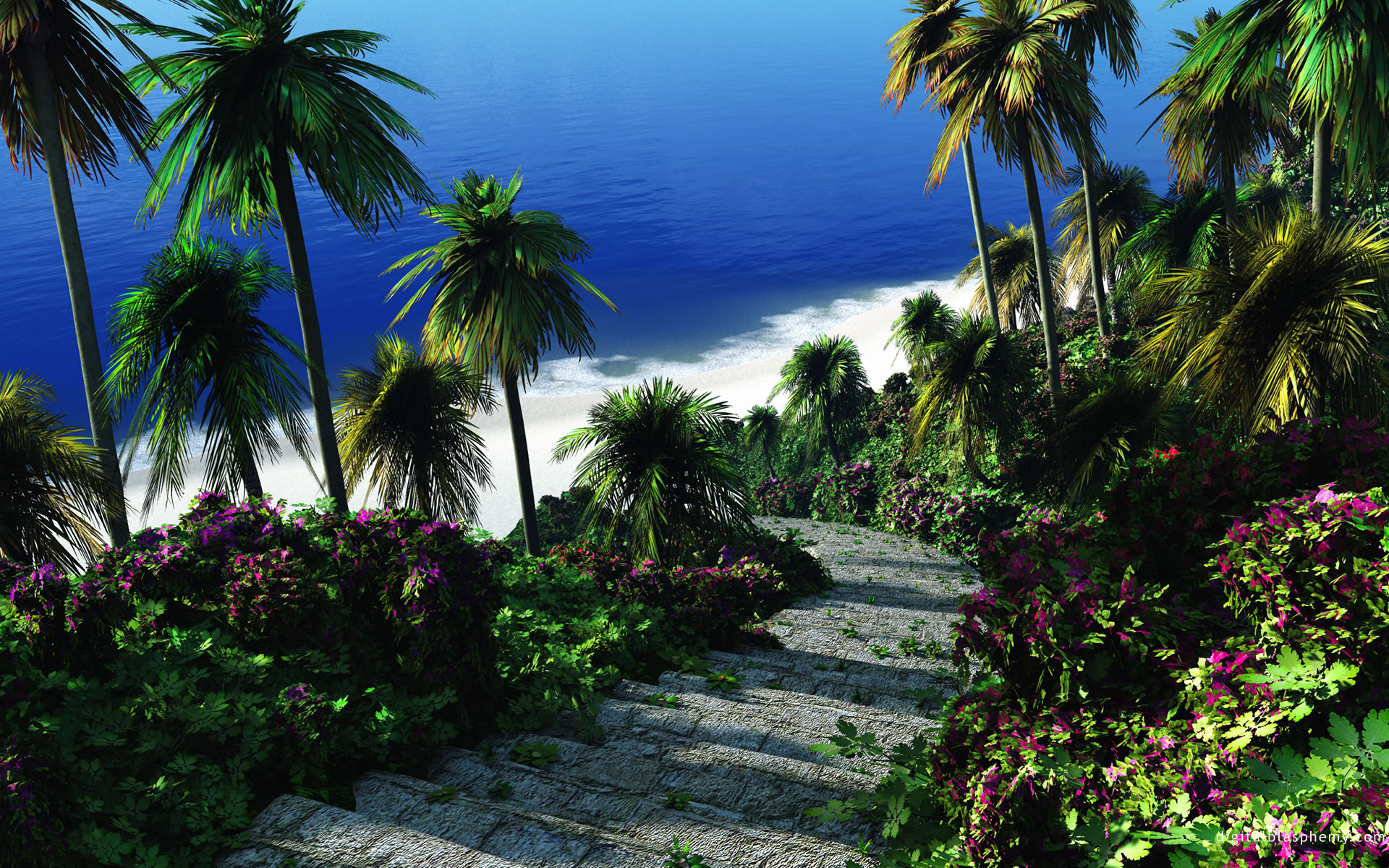 Camino a la Playa.