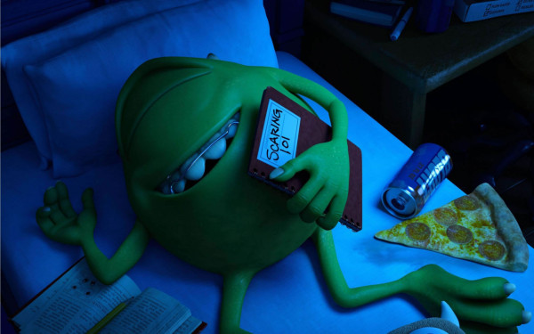 Mike Wazowski en Monsters University.
