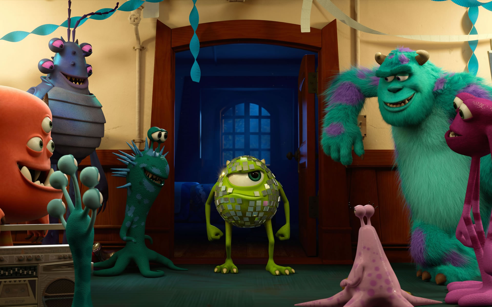 Mike Wazowski en Monsters University.