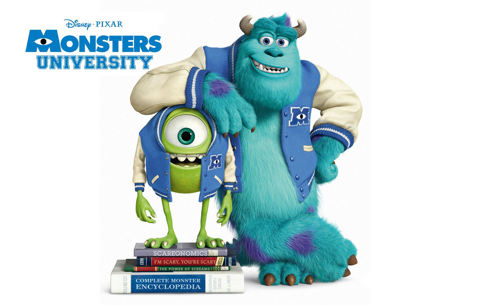 Póster Monster University.