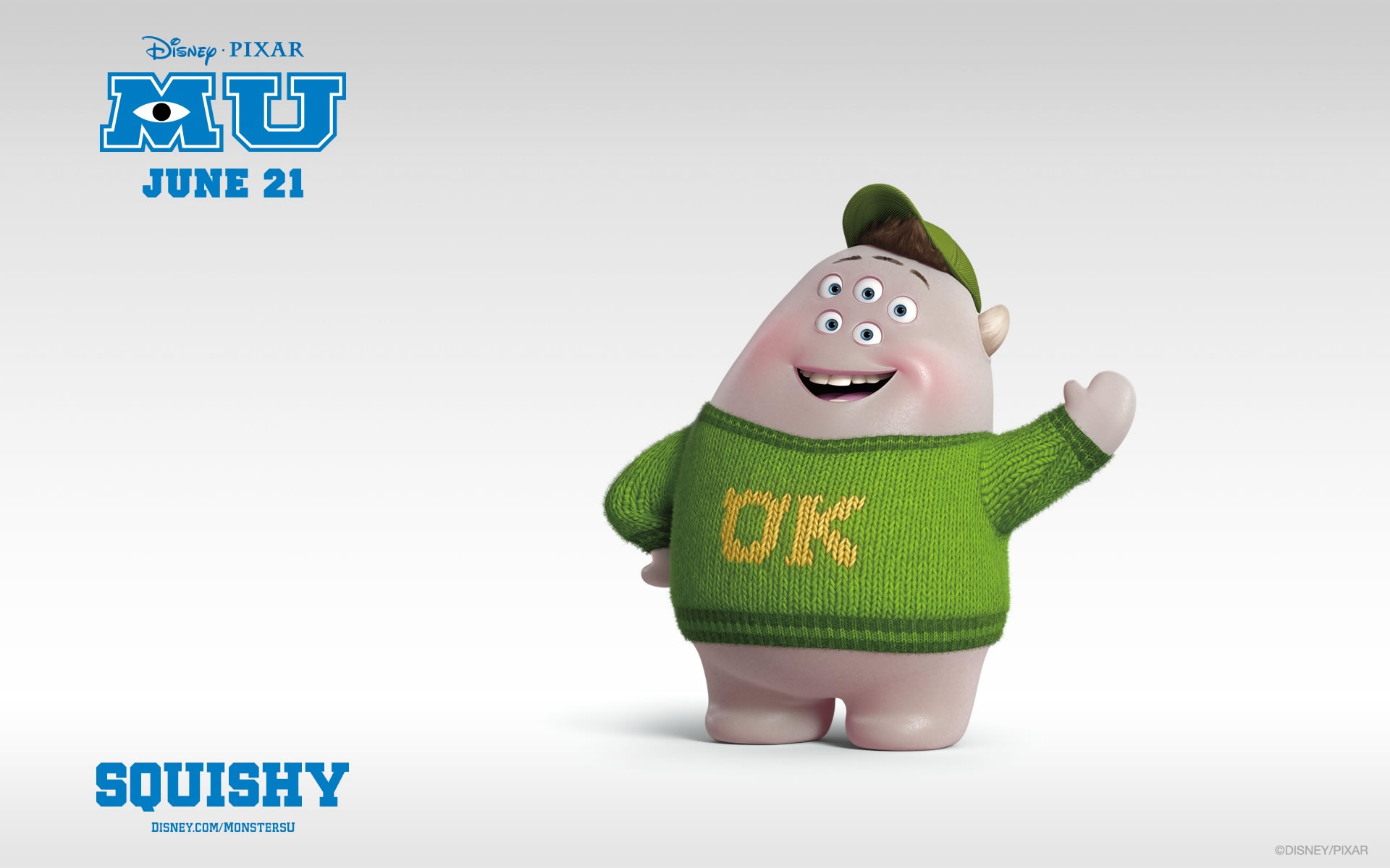 Wallpapers Monsters University Squishy.