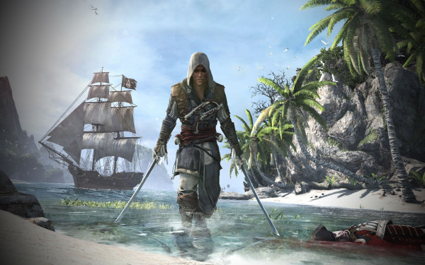 Wallpapers Assassins Creed 4.