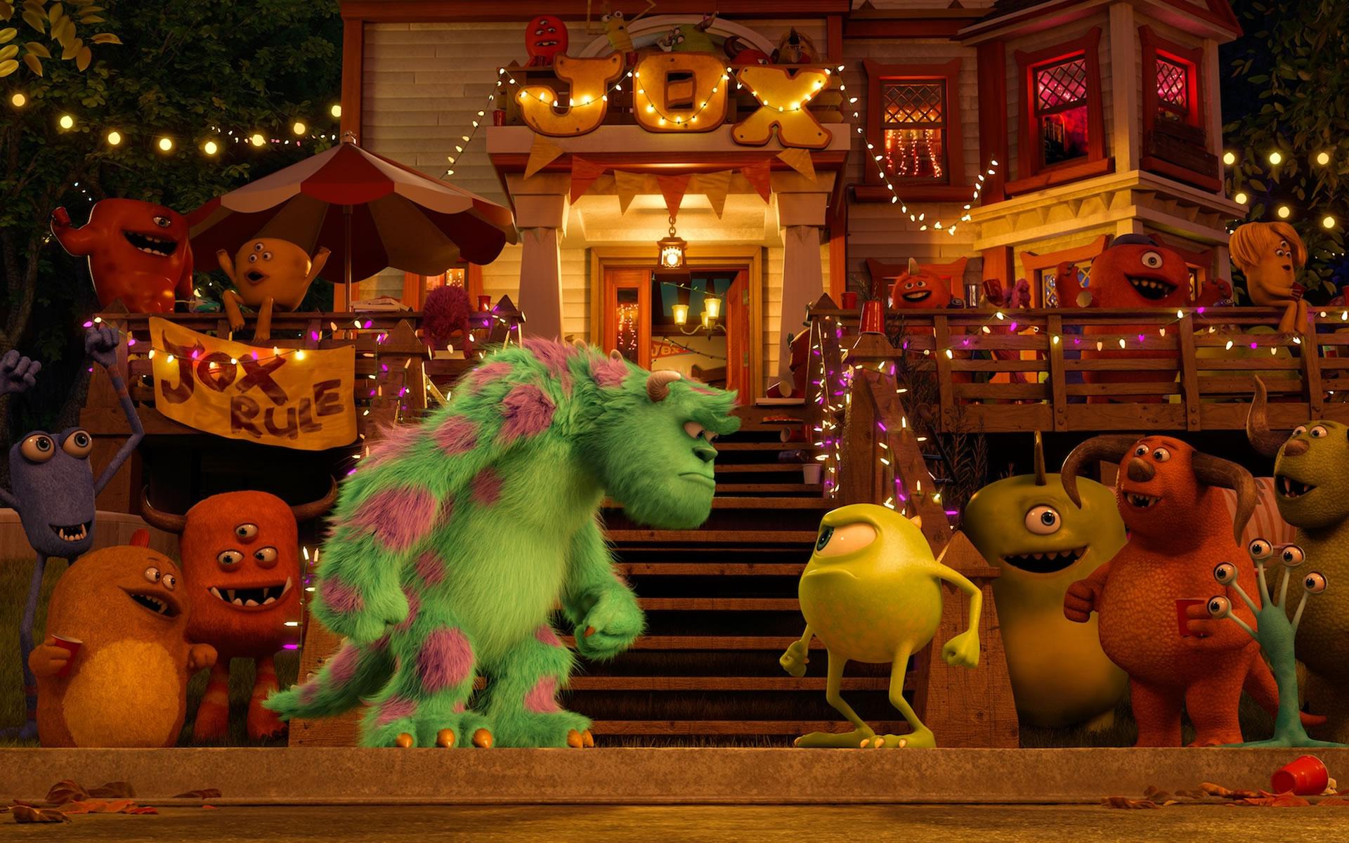 Mike Vs Sulley Cara a Cara Monsters University.