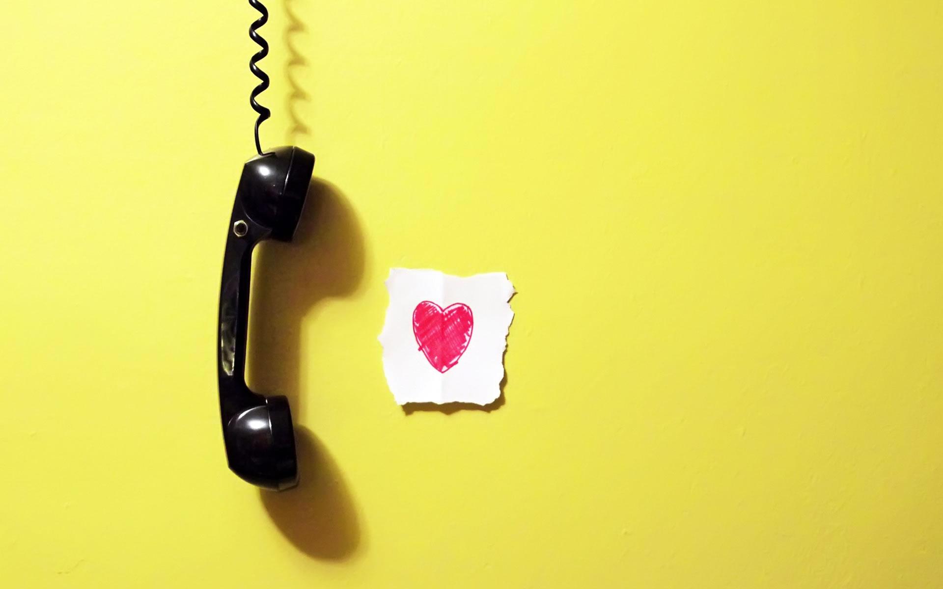 La llamada del amor.
