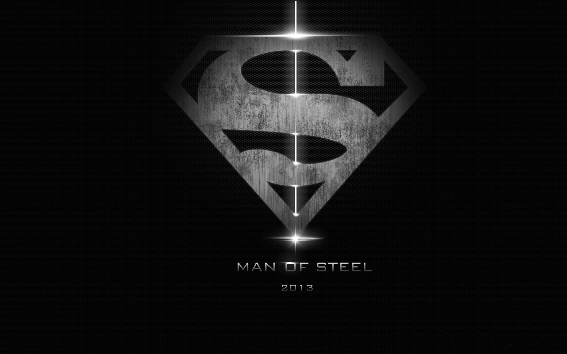 Póster Man of Steel.