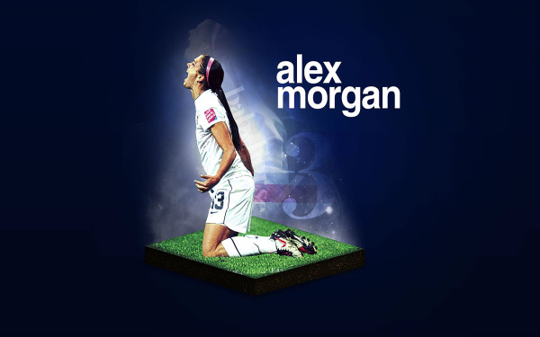 Wallpaper Fútbol Femenino Alex Morgan.