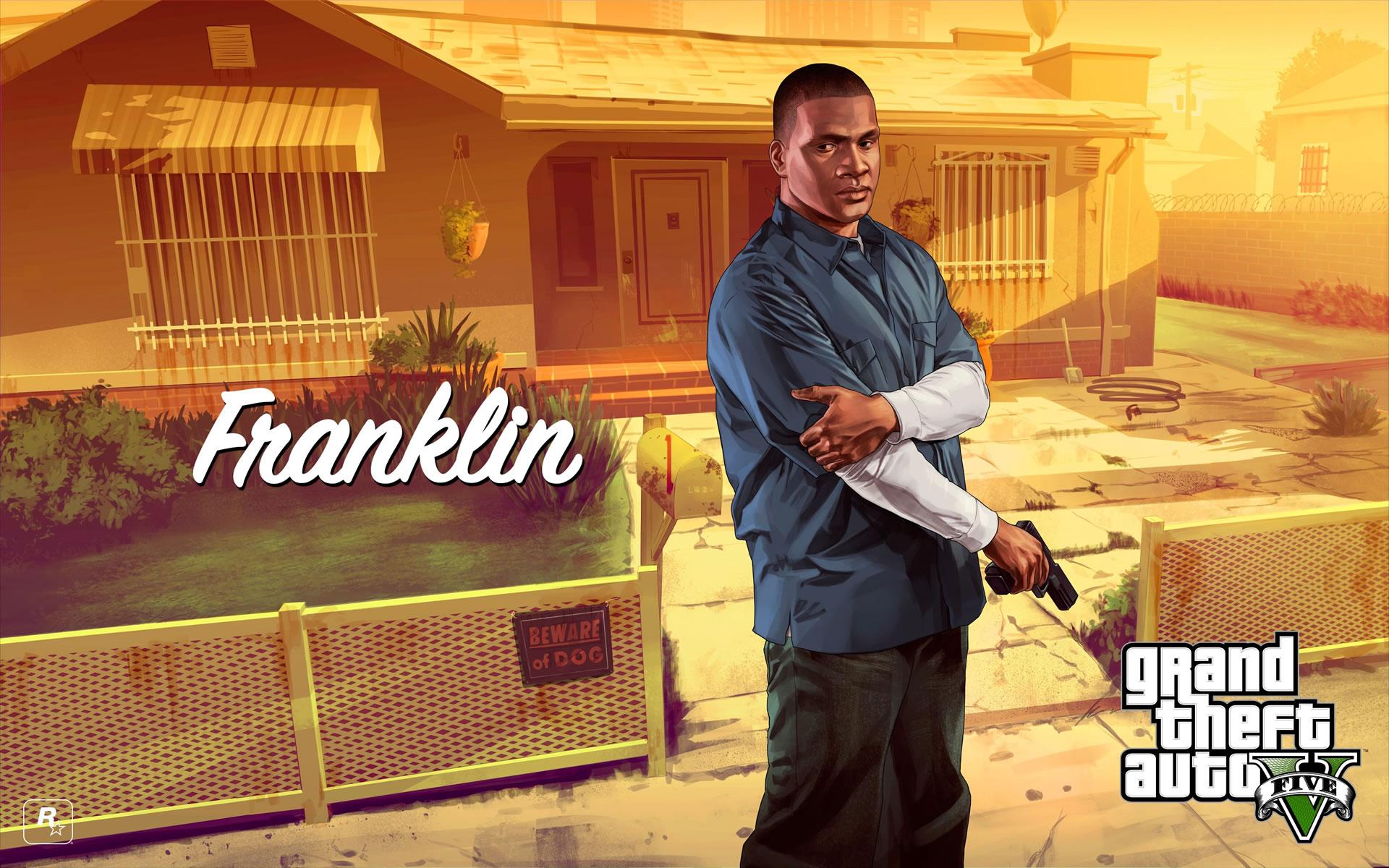 Franklin GTA V Pistola Glock