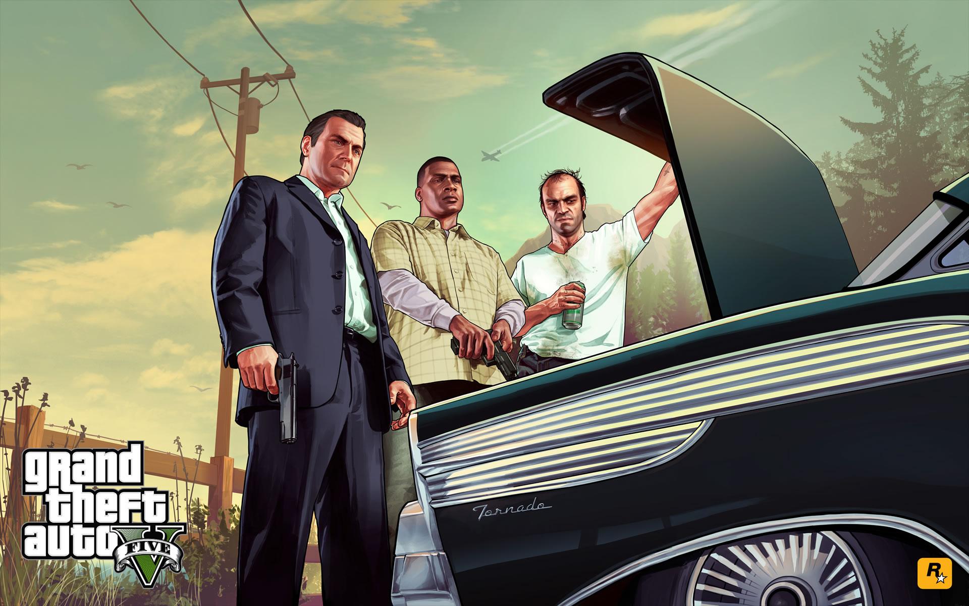 Imágenes GTA V.