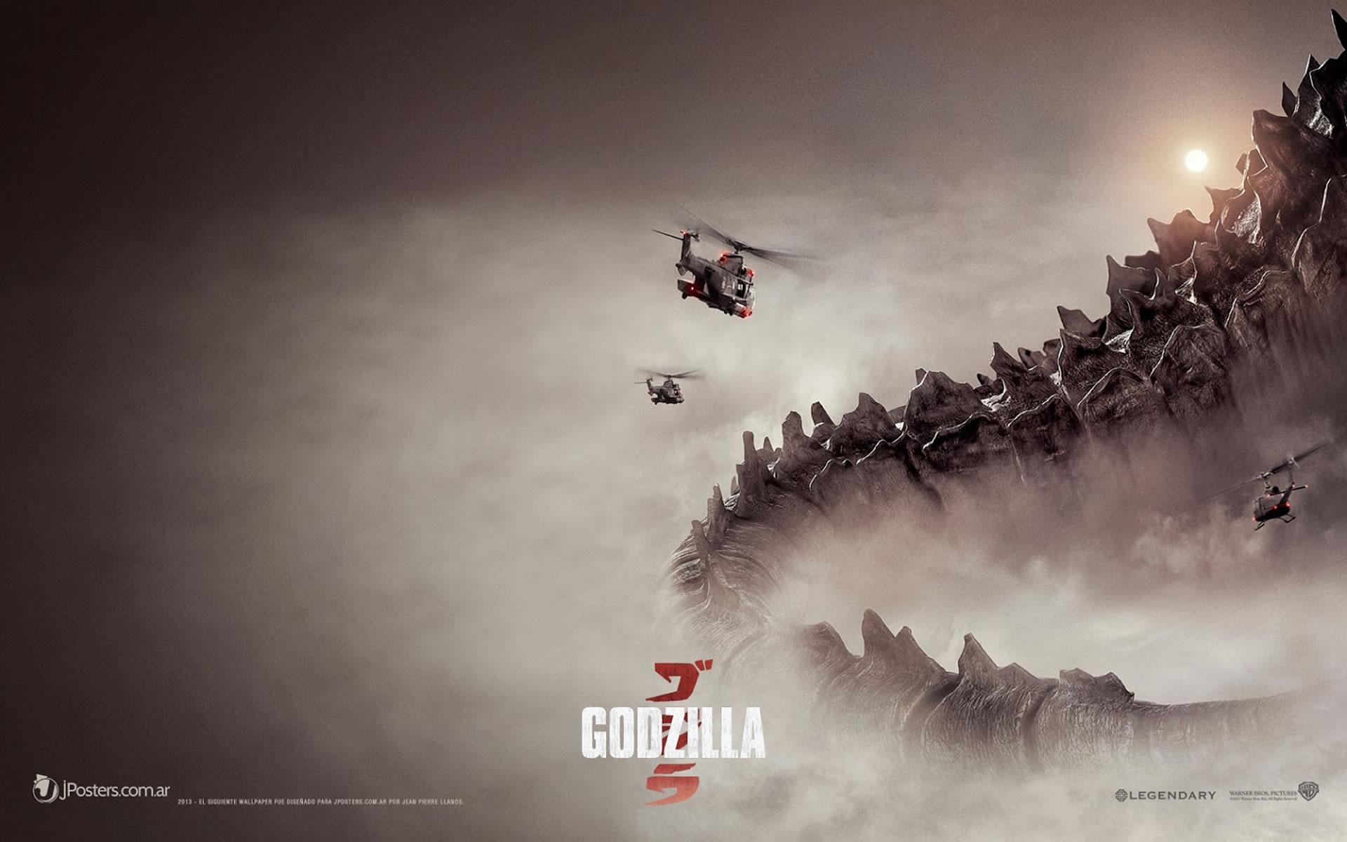 Wallpaper Godzilla 2014