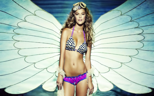 Wallpaper Nina Agdal Angel