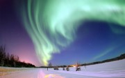 Wallpaper Aurora Boreal