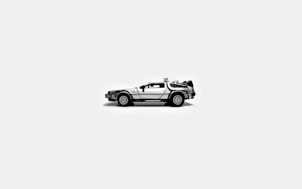 Wallpaper DeLorean DMC-12