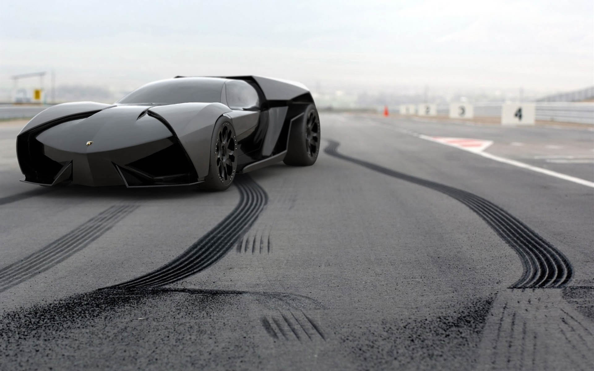 Wallpaper Lamborghini Ankonian