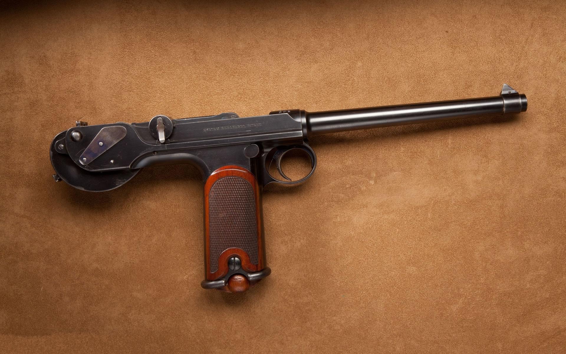 Wallpaper pistola alemana guerra Mundial