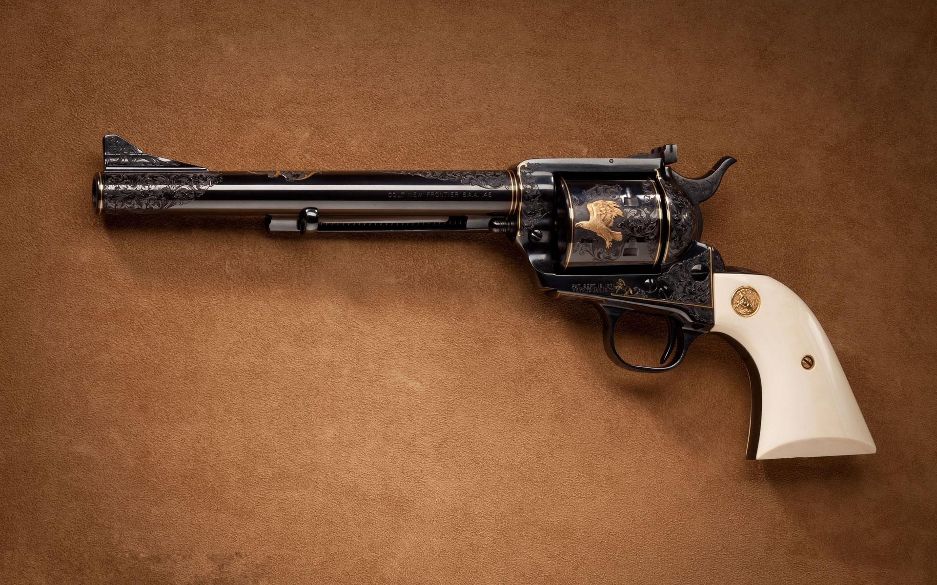 Wallpapers Armas Revolver Colt