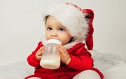 Baby Santa Wallpaper