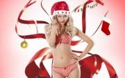 Santa Girl 2014 Wallpaper