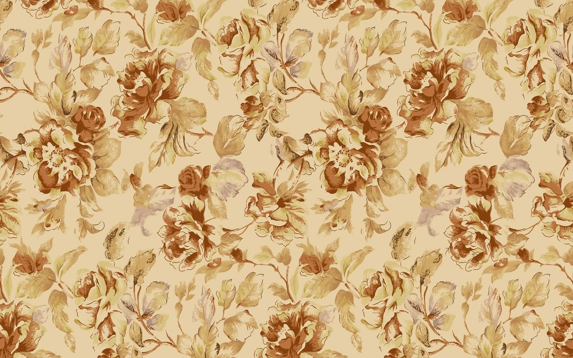 Textura Papel de Pared con Flores