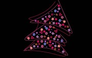 Wallpaper Christmas tree