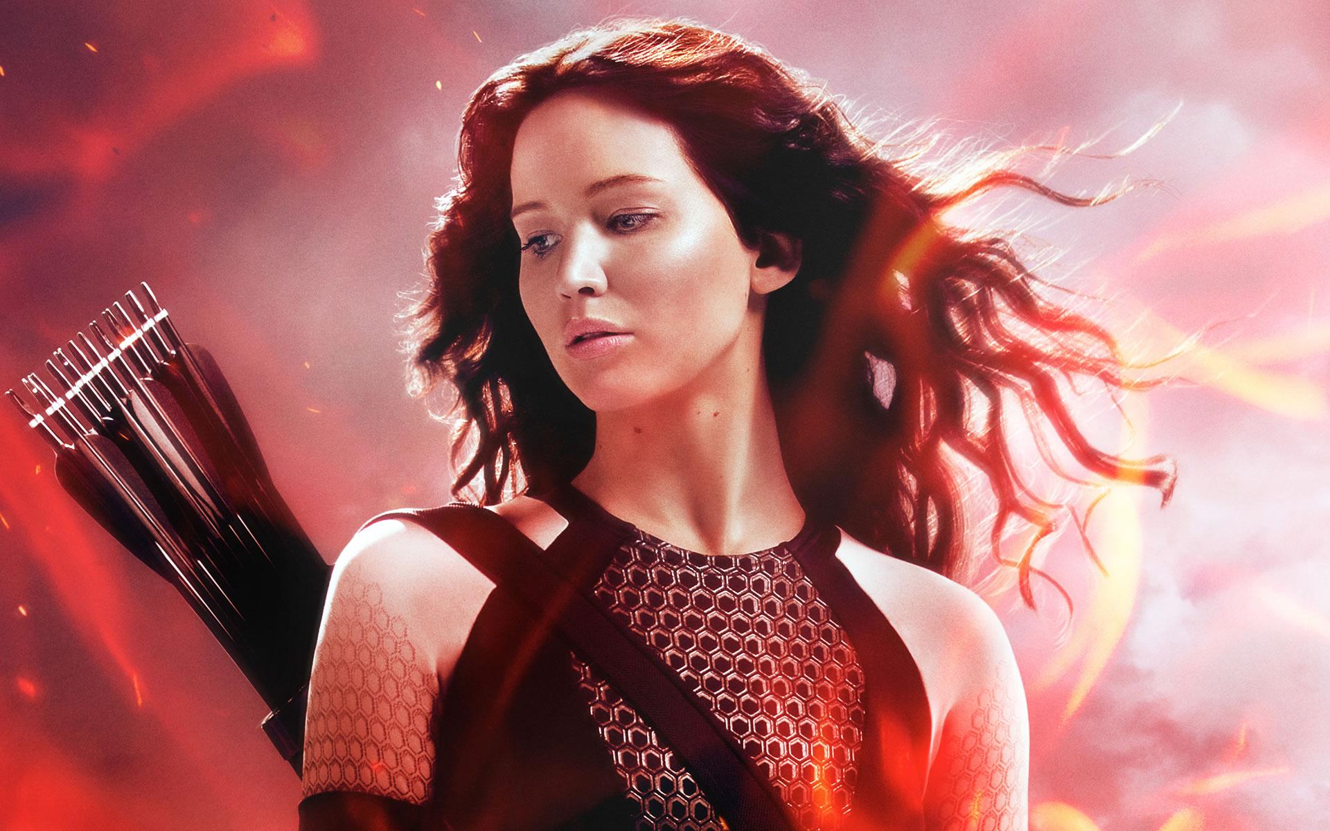 Wallpaper Katniss Hemosa