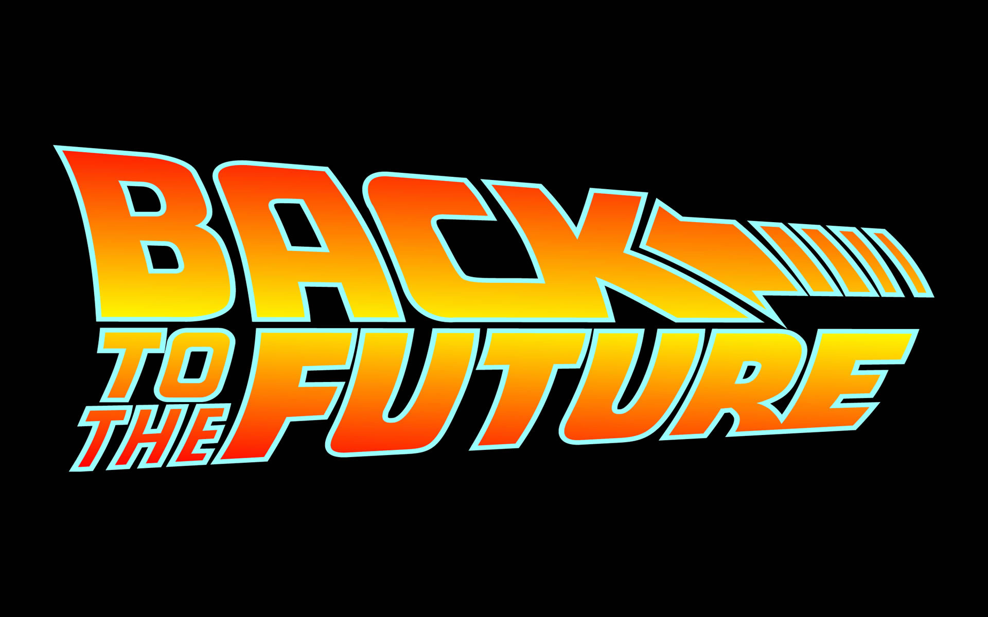 Wallpaper Logo Regreso al futuro