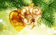 Adornos de Navidad 2014 Bolas Corazón.