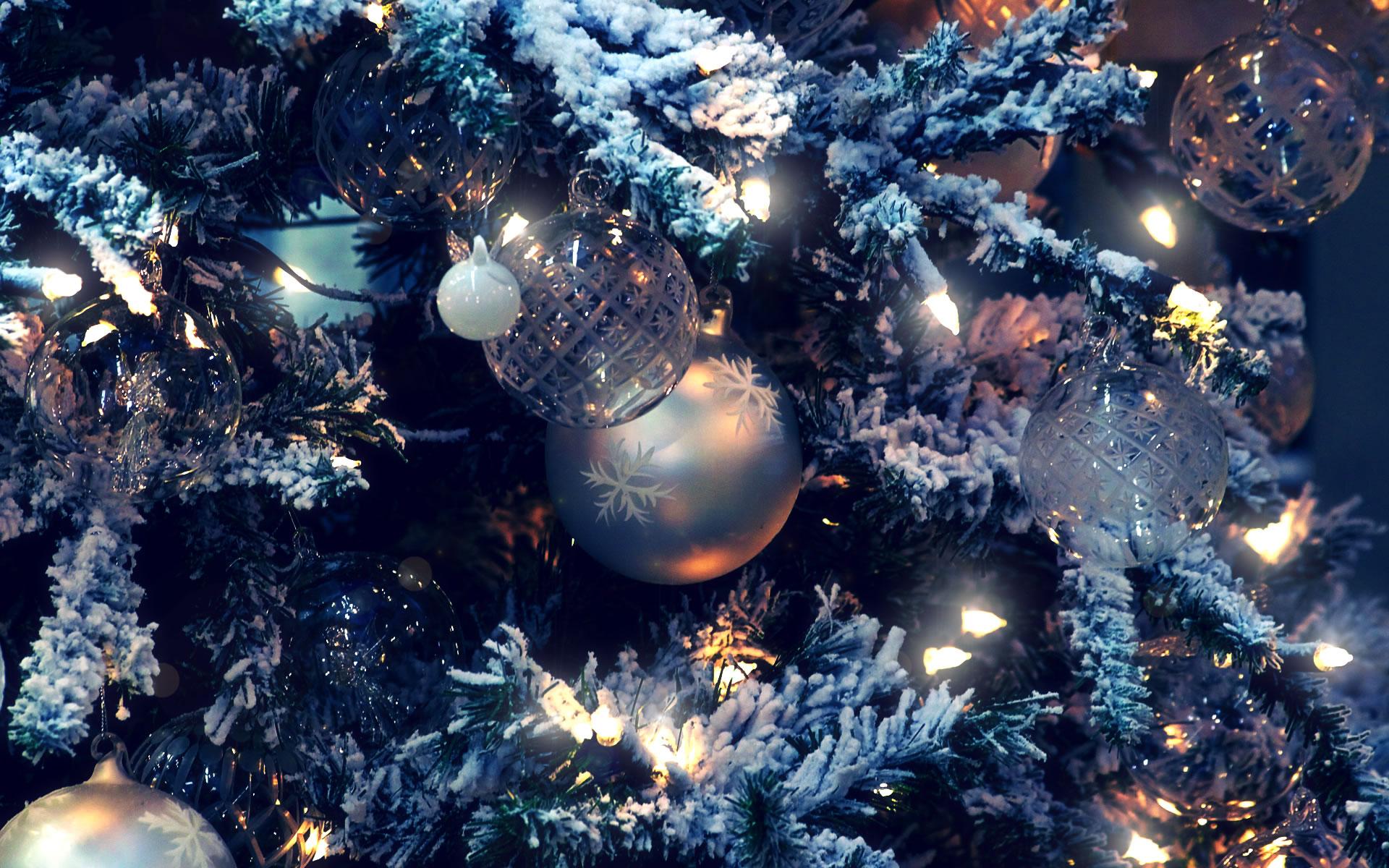 Adornos Navidad Plateados 2014