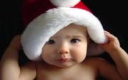 Bebe Santa Claus para Felicitar la Navidad.