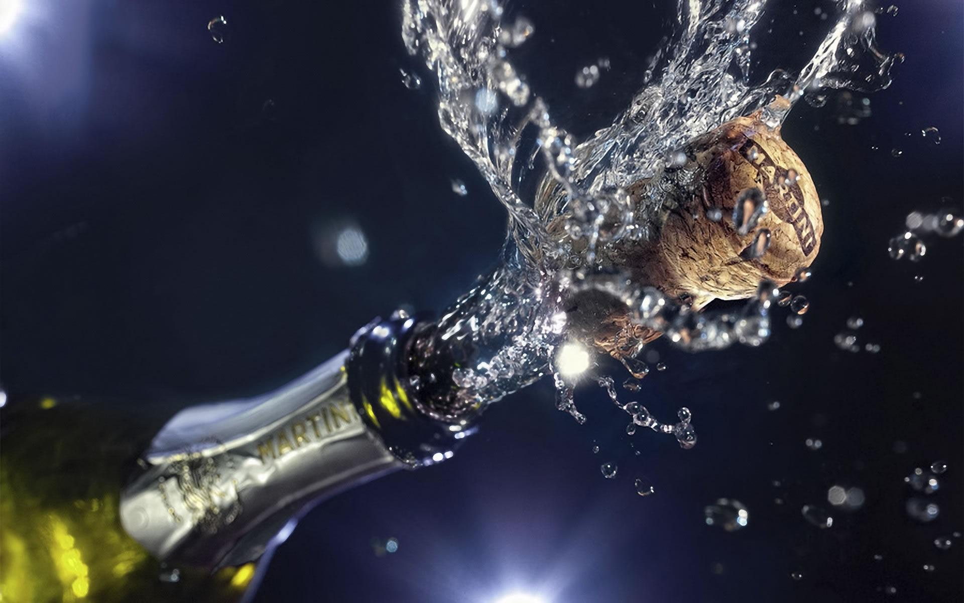 Champagne para fin de ano Wallpaper