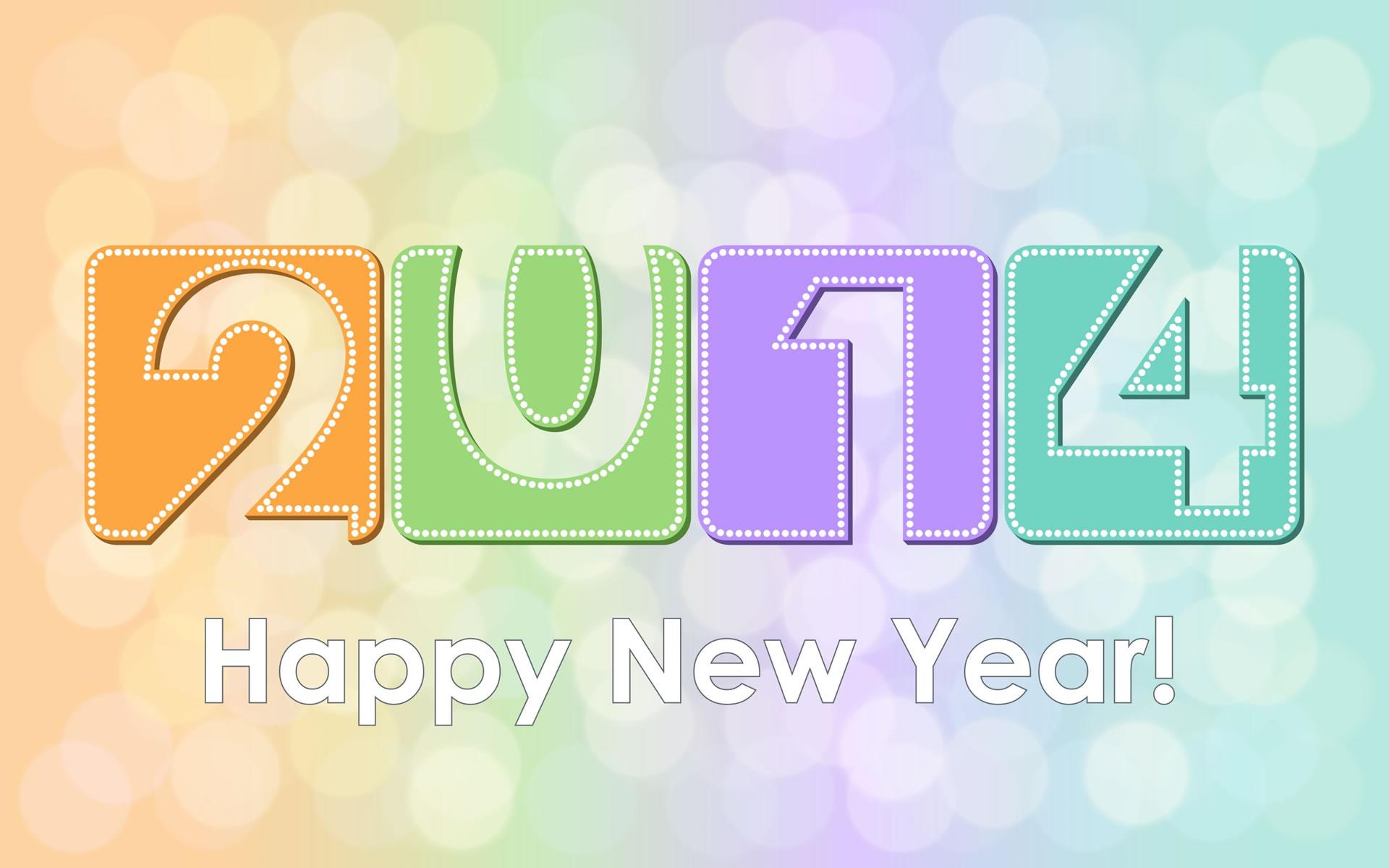 Fondo Año Nuevo para Tablet