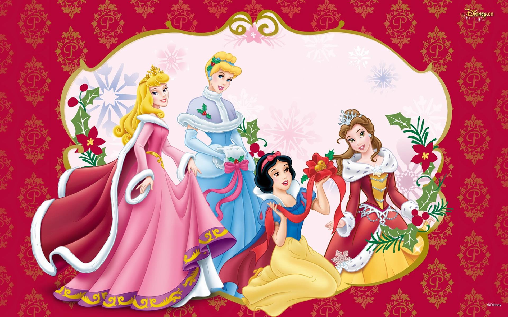 Navidad de Princesas Disney