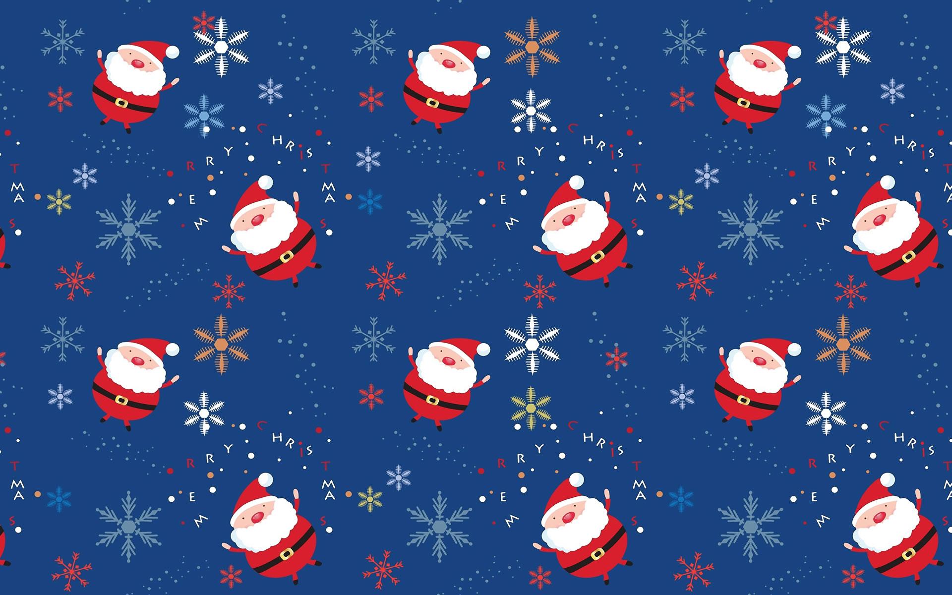 Papel Tapiz Santa Claus