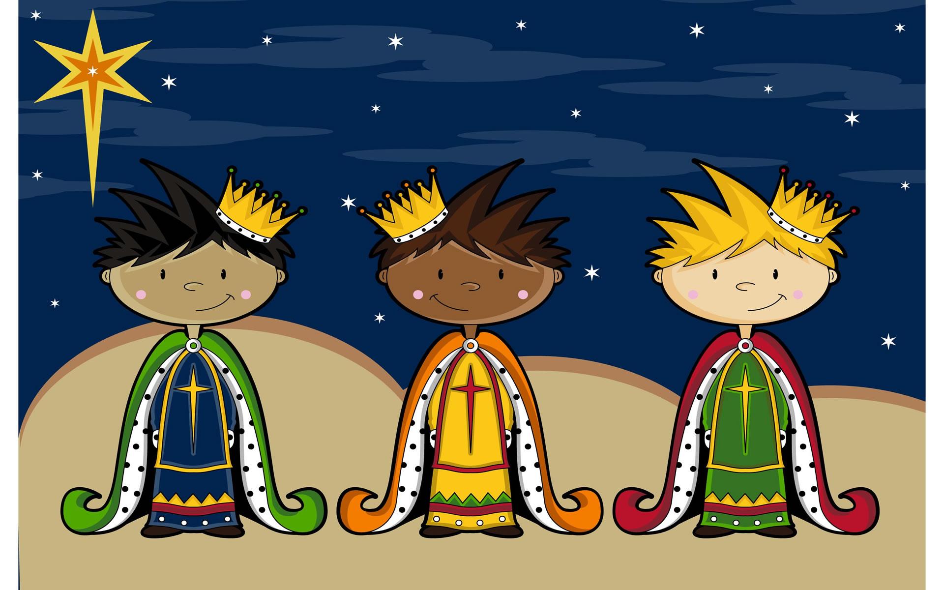 Reyes Magos Walpaper para móvil