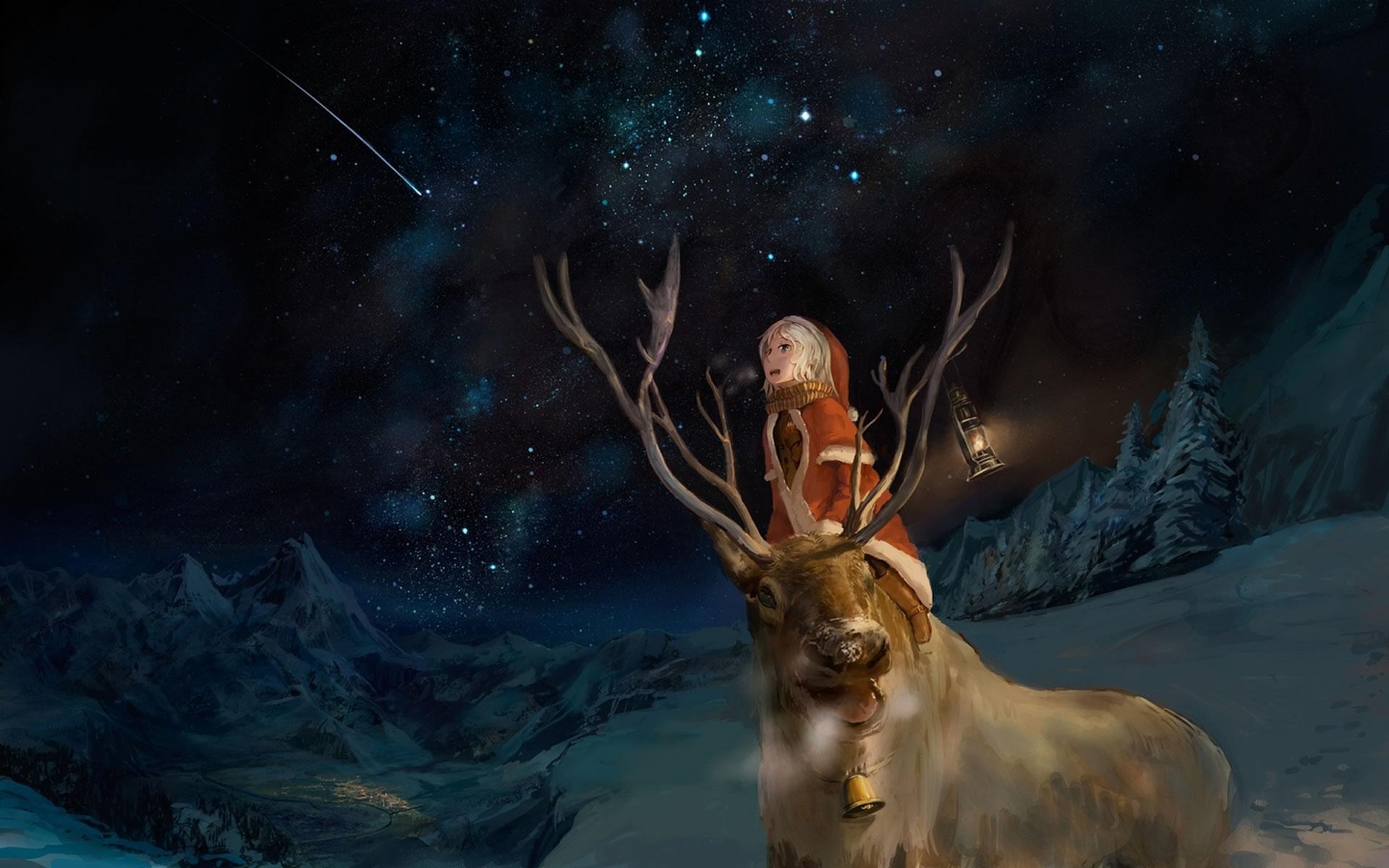 Rudolph Wallpaper para pantalla.