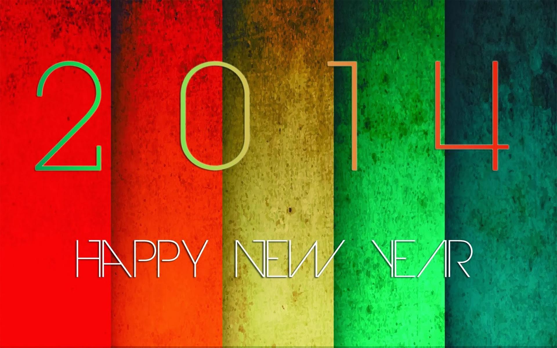 Wallpaper Felicitación Año Nuevo 2014.