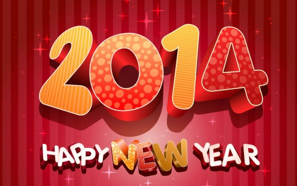Wallpapers Happy New Year 2014.