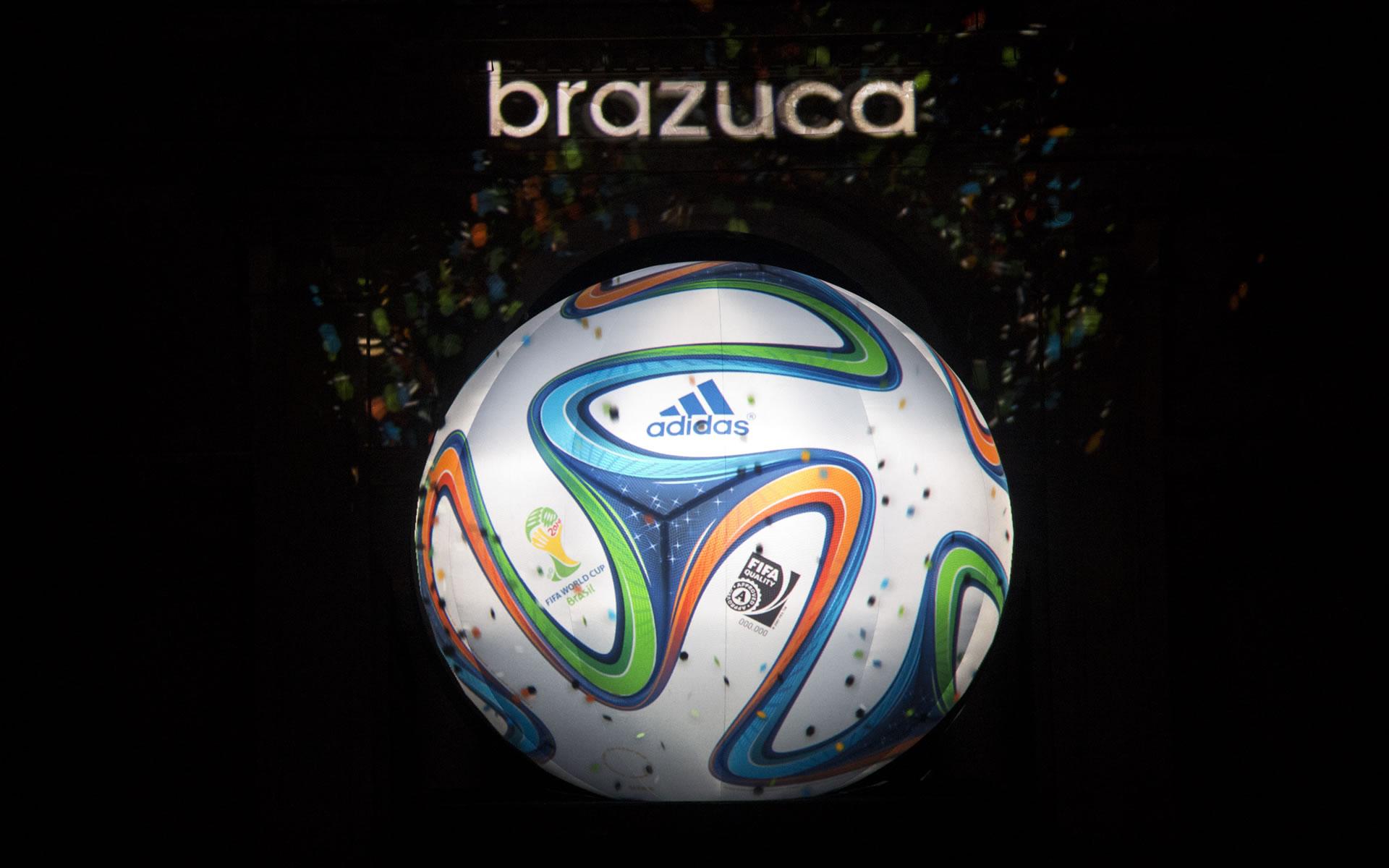 Adidas Brazuca Balón Mundial Brasil 2014