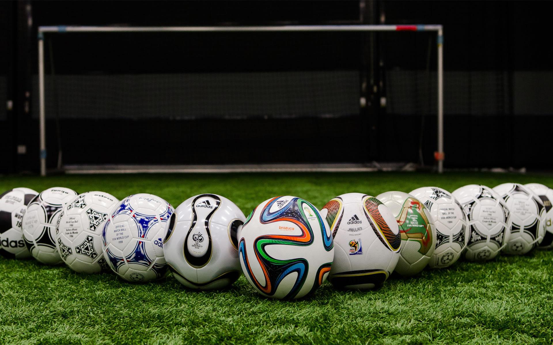 Balones de los Mundiales de Fútbol
