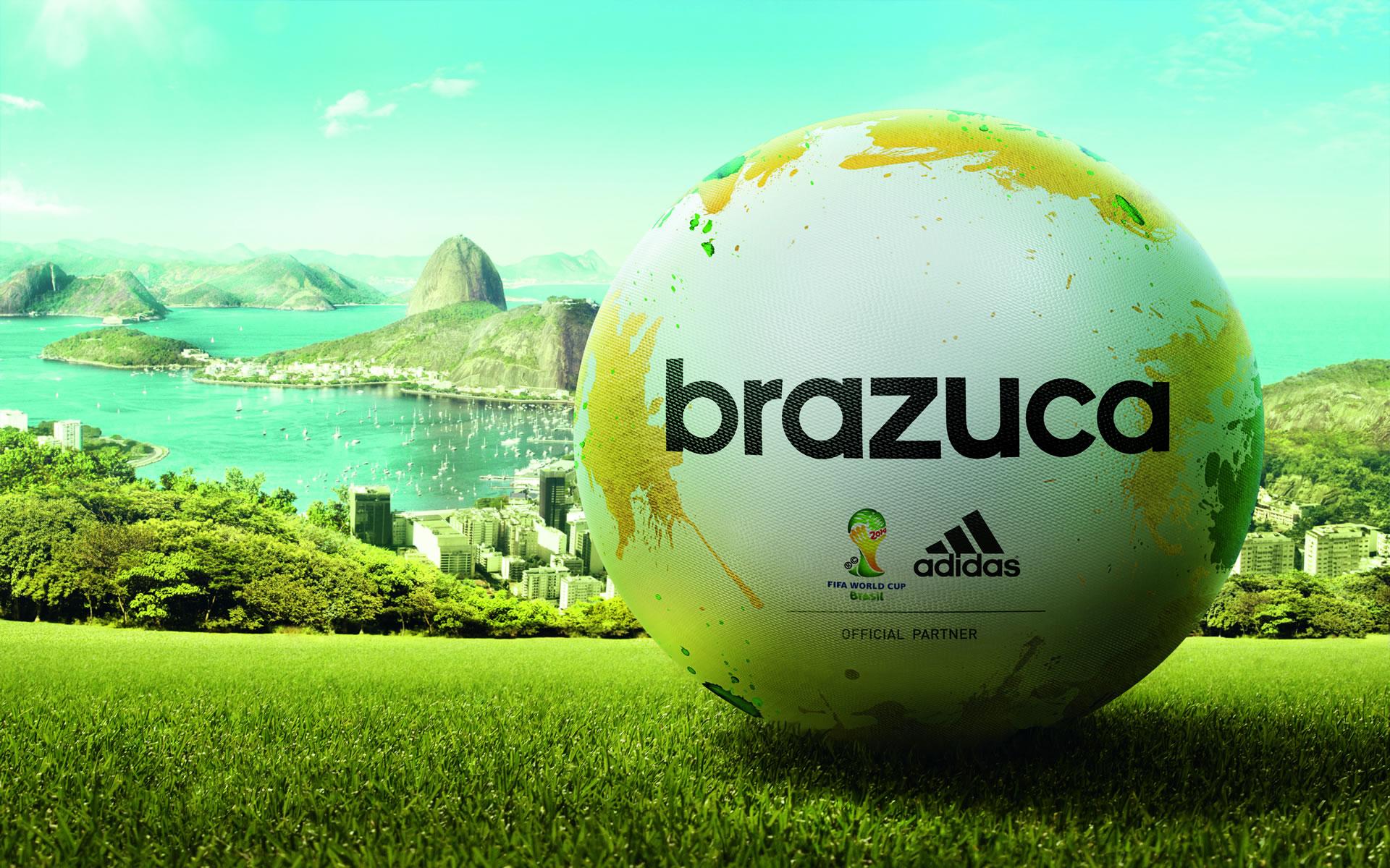 Wallpaper Balón Brasil 2014 Nombre Brazuca.