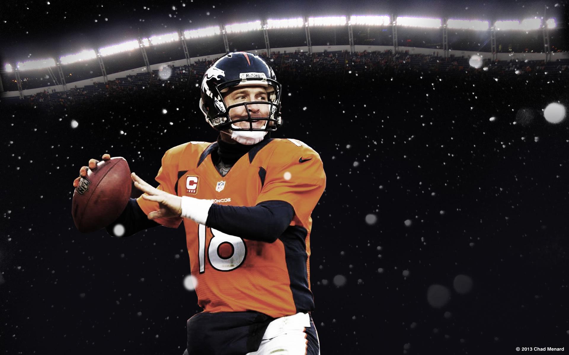 Imagen Peyton Manning Super Bowl 2014