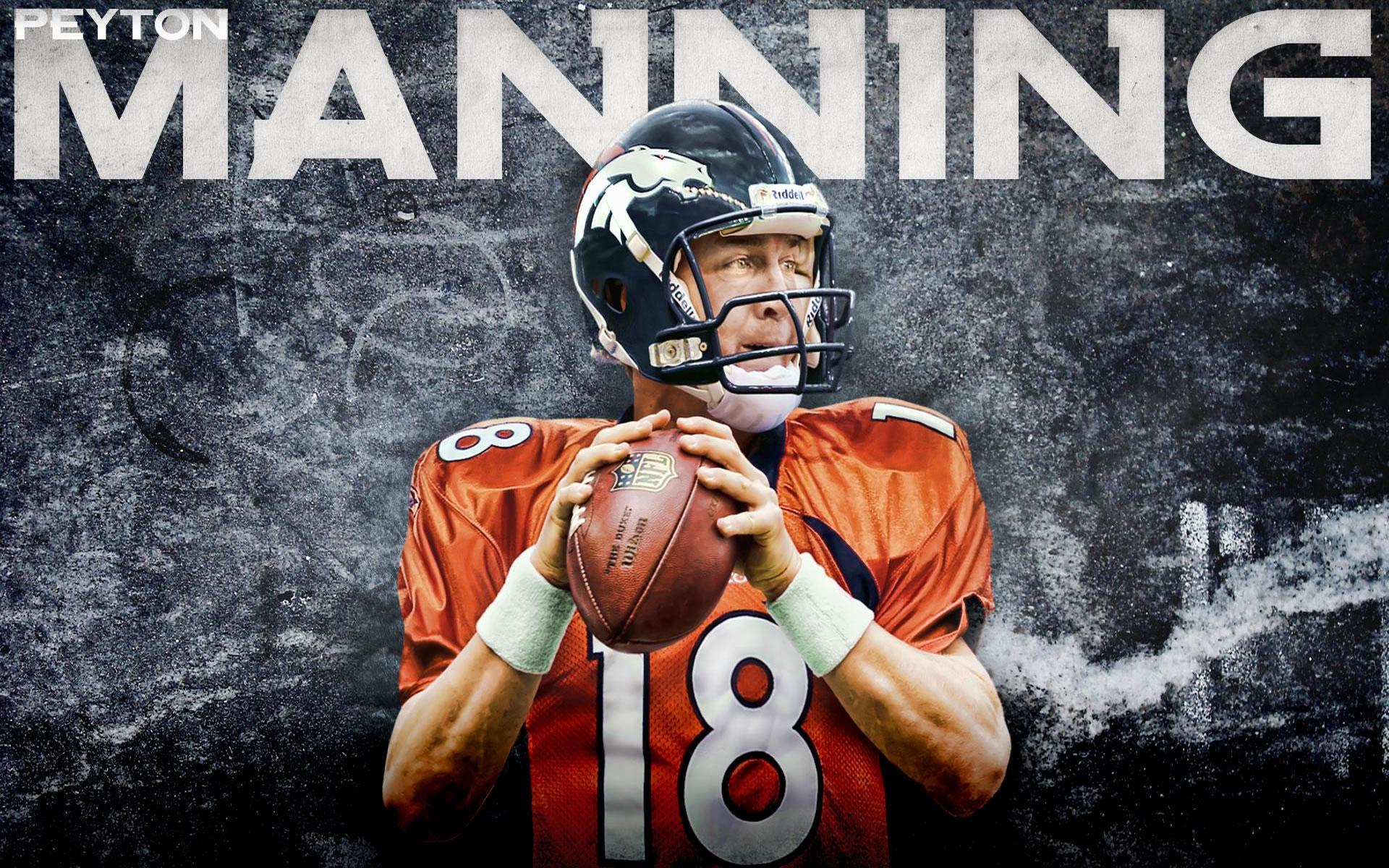 Peyton Manning Quarterback Super Bowl 2014