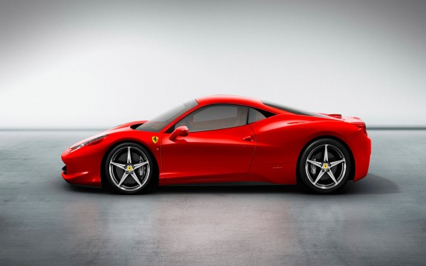 Wallpaper Ferrari 458 Italia.