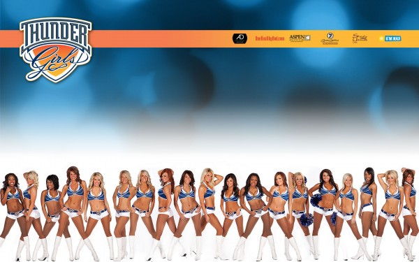 Wallpaper Thunder Girls