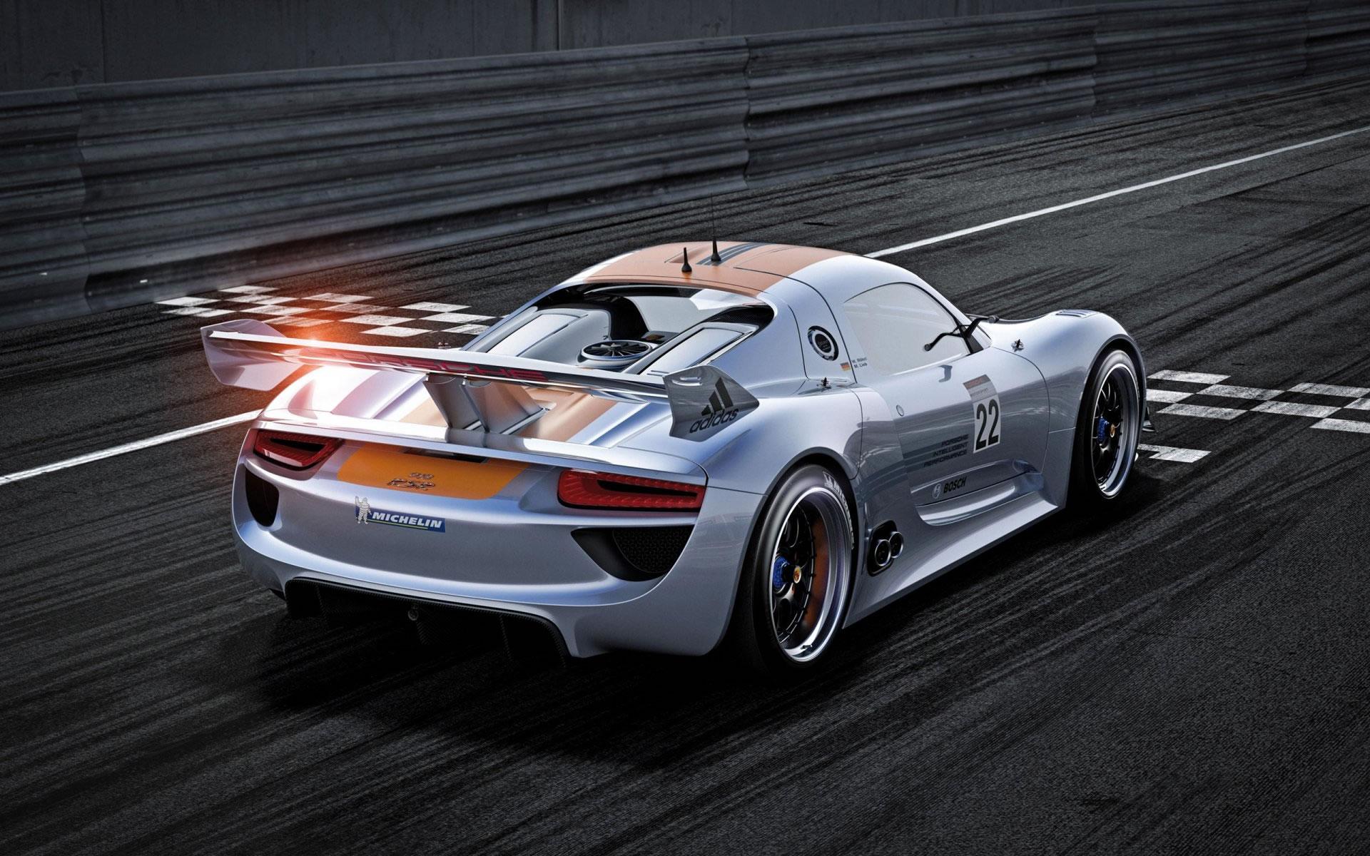 Fondo Porsche 918 RSR