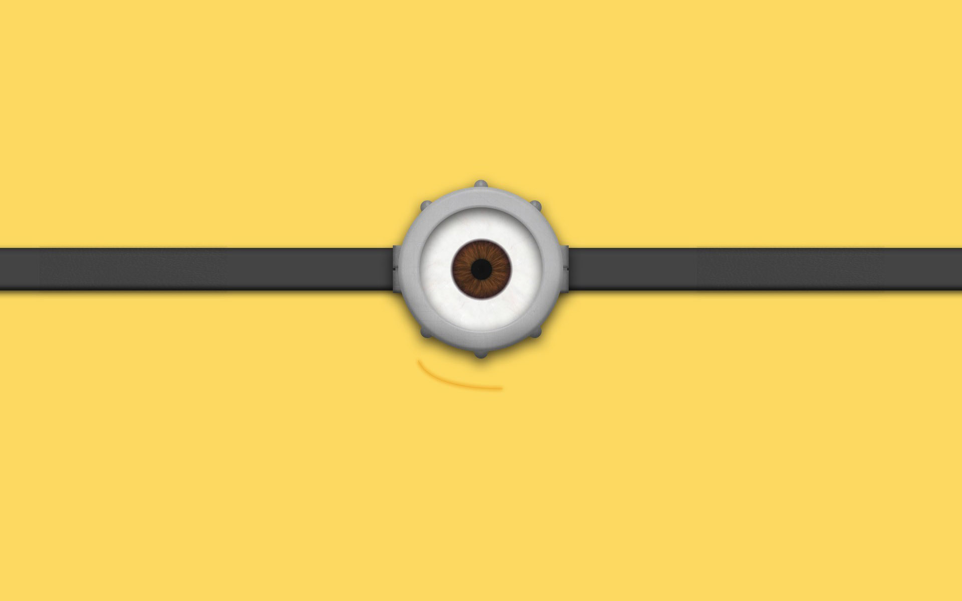 Ojos de Minion Wallpaper