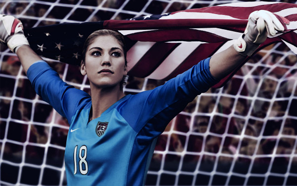 Wallpaper Hope Solo