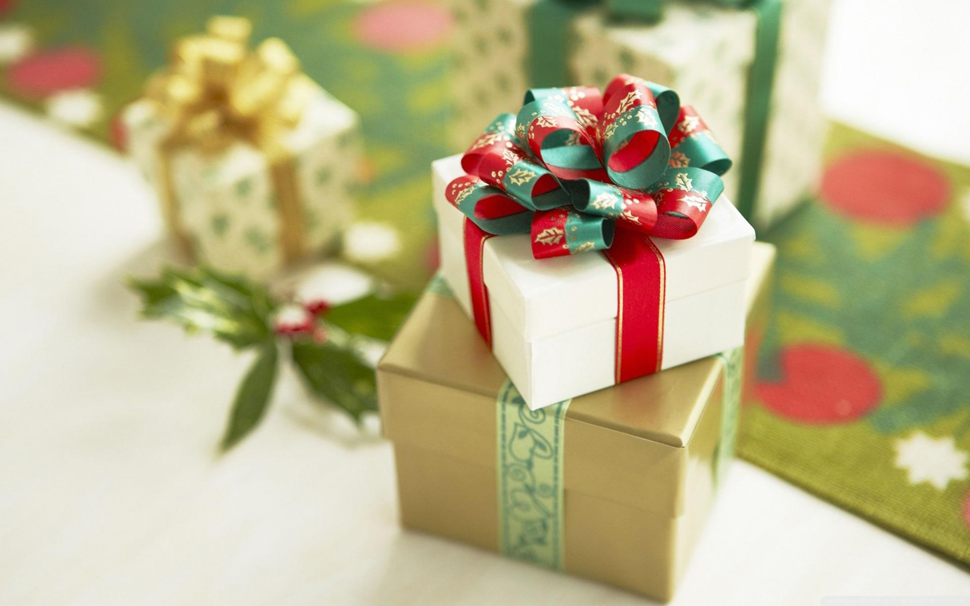 Fondo de Regalo Navidad