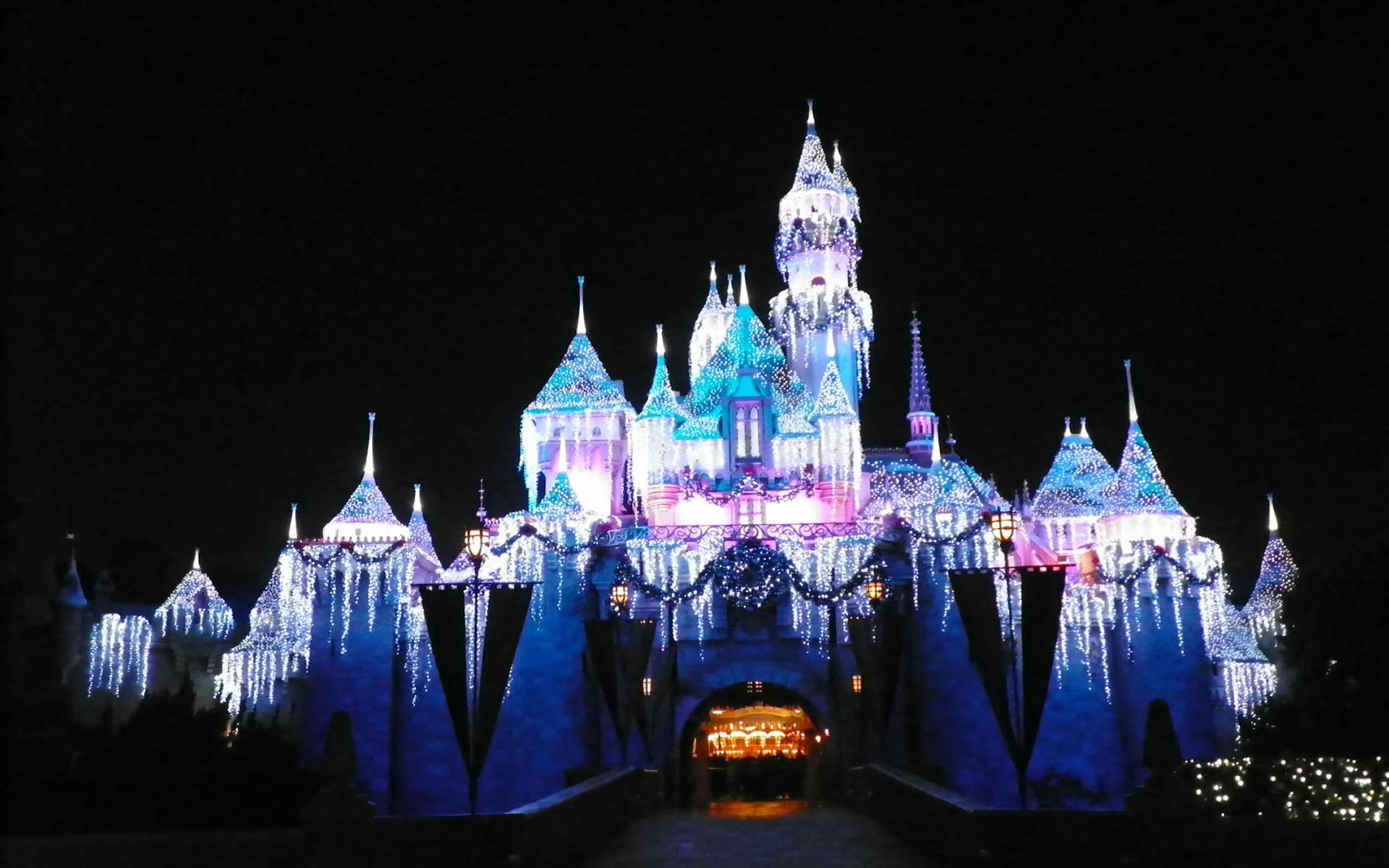 Un castillo en año Nuevo